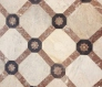 Tiled flooring Compton Verney