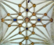 St Mary's church Warwick, ceiling