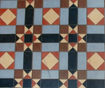Leamington Spa, floor tiles