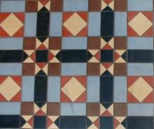 Leamington Spa, floor tiles