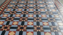 Leamington Spa floor tiles