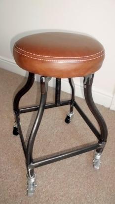 Alexander & Pearl industrial stool